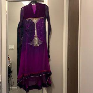 Designer Pakistani Suit - X small